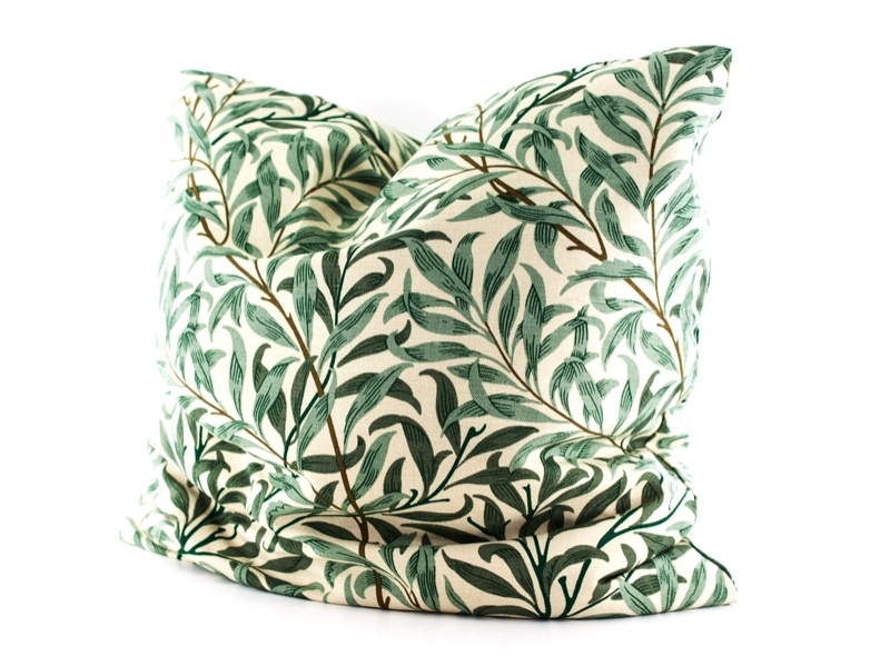 MORRIS & CO. Willow Boughs Cushion 윌로우 보우프린트 쿠션