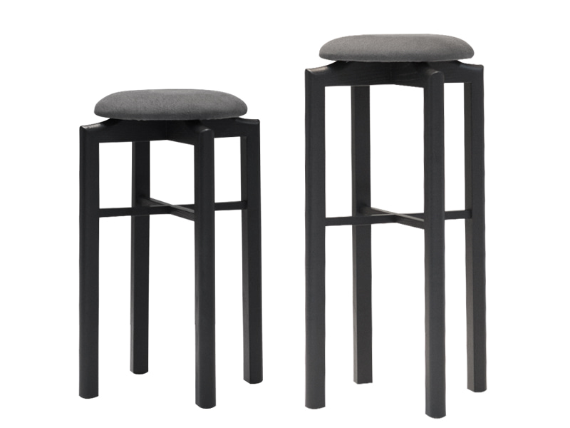 Zacc collection by SEDEC Midtown Stool & Island Stool (Grey) 미드 타운 스툴 & 아일랜드 스툴 (그레이)