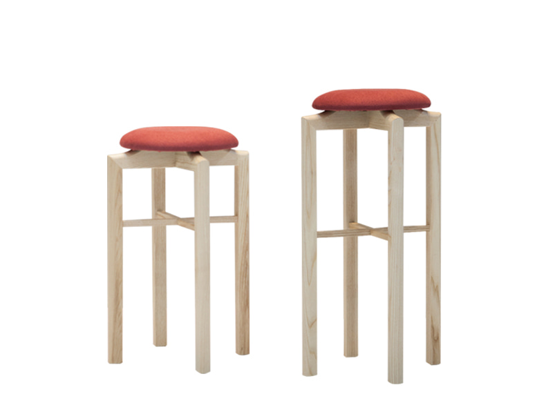 Zacc collection by SEDEC Midtown Stool & Island Stool (Red) 미드 타운 스툴 & 아일랜드 스툴 (레드)