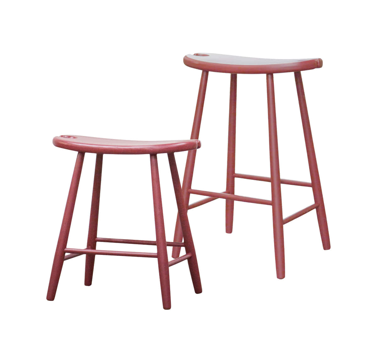 Zacc collection by SEDECSaddle Stool & Island Stool (Red)새들 스툴 & 아일랜드 스툴 (레드)