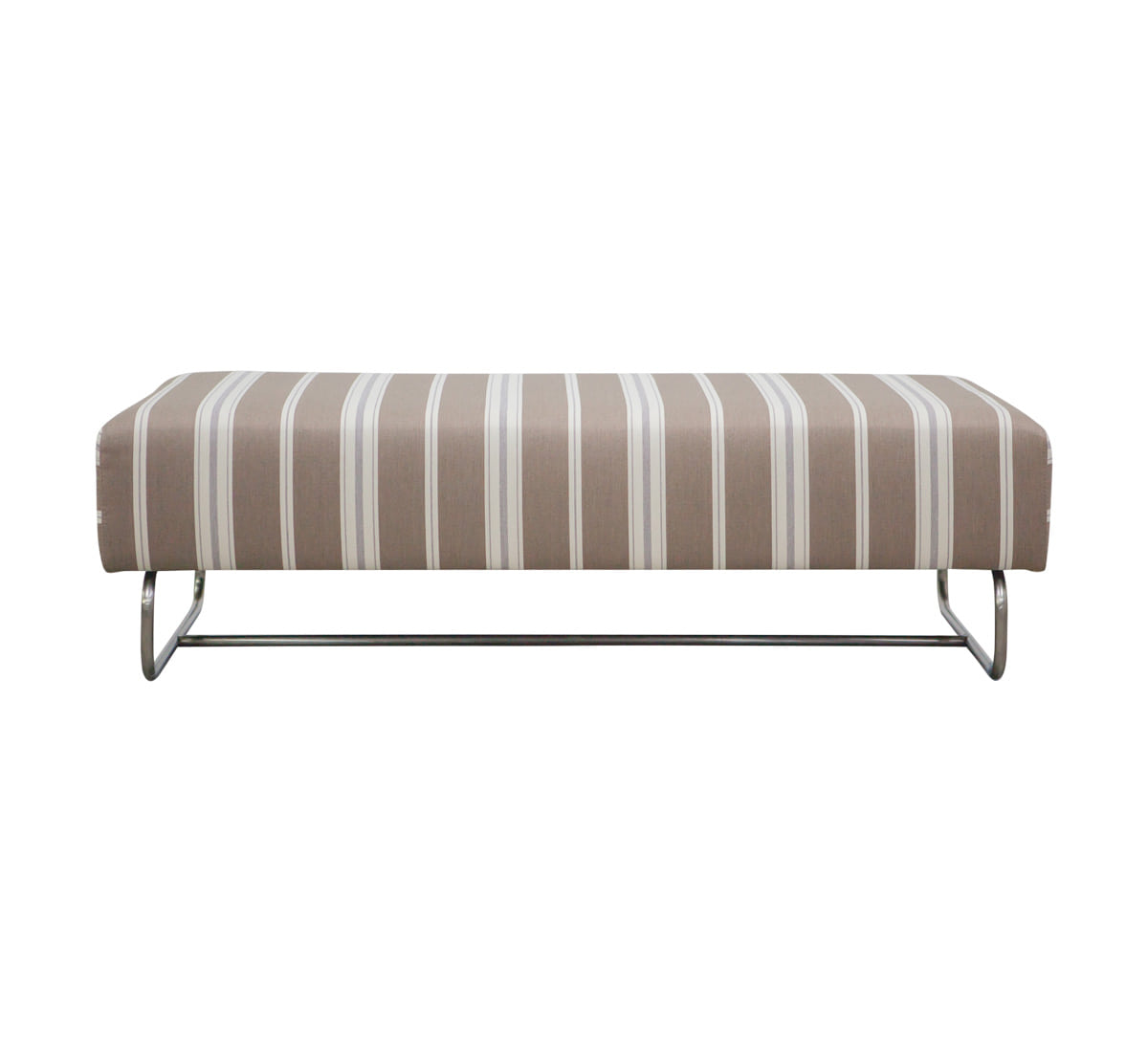 Zacc collection by SEDEC Modern Steel Bench (Stripe)  모던 스틸 벤치 (스트라이프)