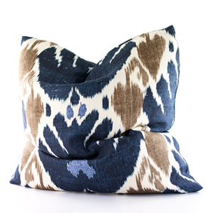 Jim Thompson Navy Pattern Cushion 짐탐슨 패턴 쿠션