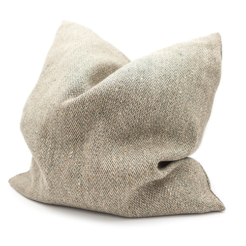 MORRIS & CO.Herringbone Pattern Cushion (Khaki) 모리스 헤링본 패턴 쿠션 (카키)