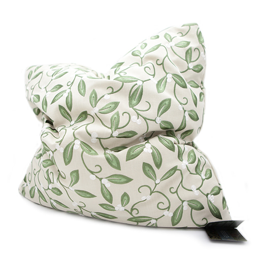 MORRIS & CO.Artichoke Embroidery Cushion 모리스 아티초크 자수 쿠션