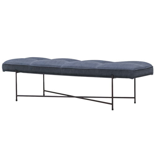 Zacc collection by SEDEC Pipe Bench (Navy) 파이프 벤치 (네이비)