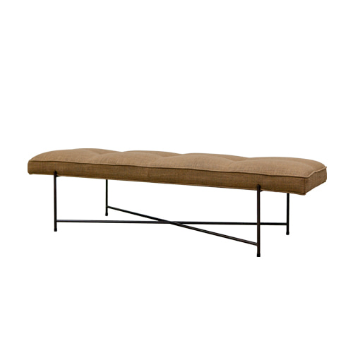 Zacc collection by SEDEC Pipe Bench (Camel) 파이프 벤치 (카멜)