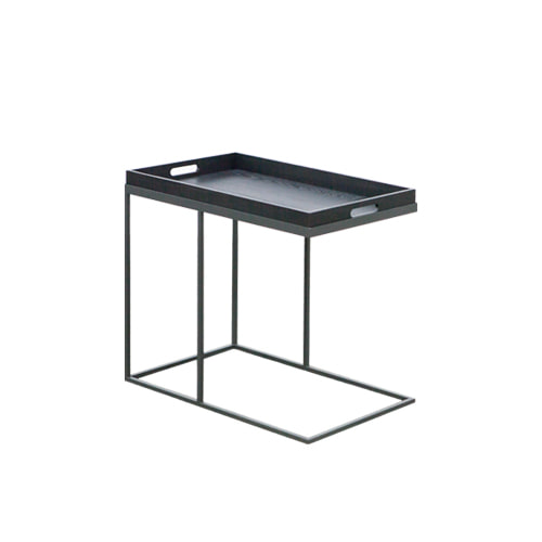 Zacc collection by SEDECCHARCOAL WOOD TRAY TABLE-A  우드 트레이 테이블- A(Charcoal)