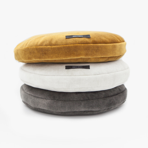 Mini Velvet Round Floor Cushion미니 벨벳 원형 방석