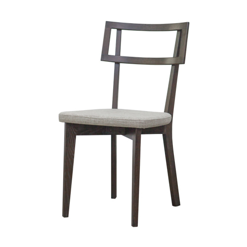Zacc collection by SEDEC Chianti Roasted Brown Dining Chair (Natural) 키안티 로스티드 브라운 식탁 의자 (내추럴)